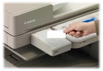 iR-ADV C5000 Card Reader
